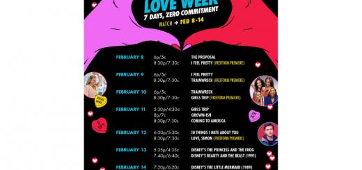 Freeform Love Week