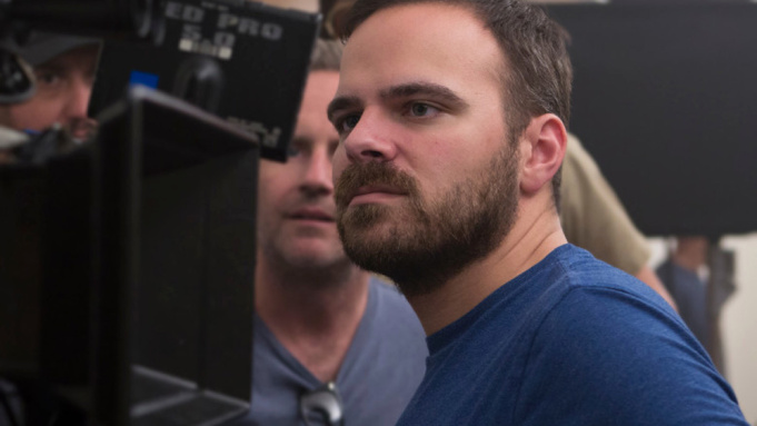 Kyle Patrick Alvarez directing Crater