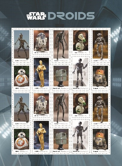 droid stamps