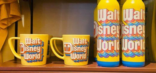 Walt Disney World Yellow Merch