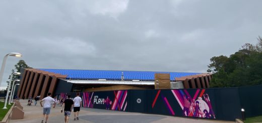 Guardians of the Galaxy: Cosmic Rewind Construction