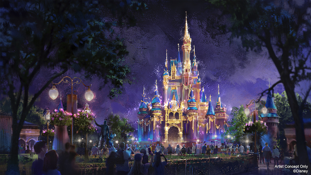 Cinderella Castle anniversary
