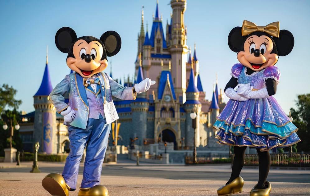 Mickey Minnie 50th anniversary celebration