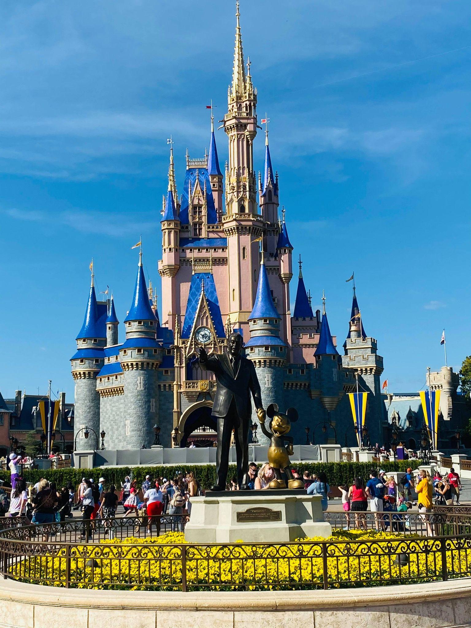Cinderella Castle painting