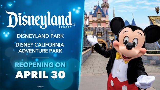 Disneyland reopening tickets