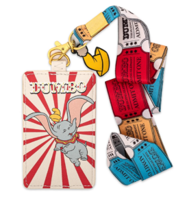 Dumbo lanyard with card holder