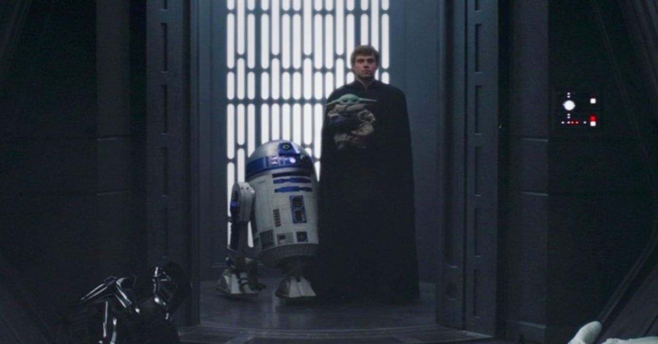 Luke Skywalker, Grogu, The Mandalorian