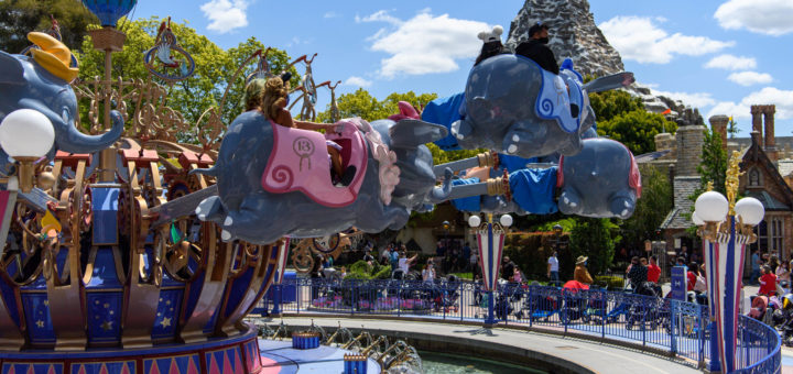 Disneyland temperature screening
