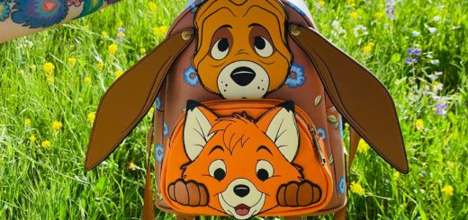 Fox and the Hound Loungefly