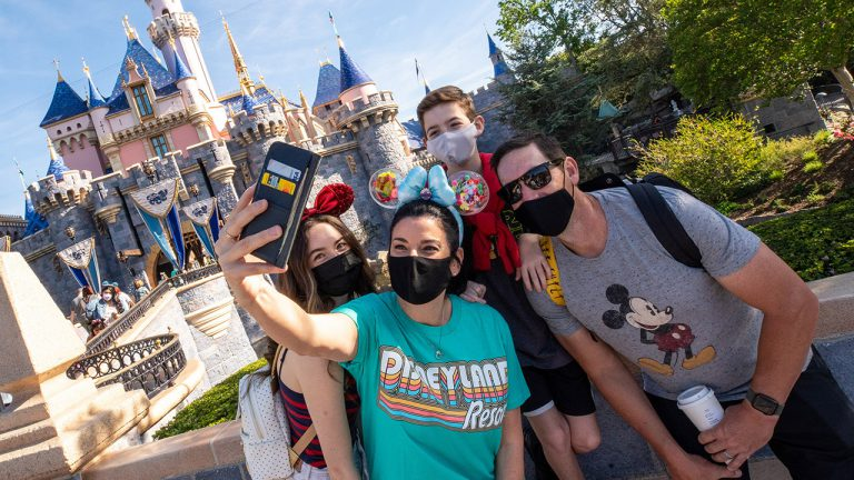 Disneyland young adults