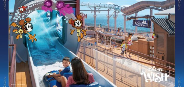 Disney Wish Deck Party