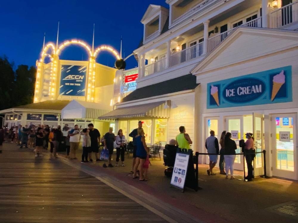 Boardwalk, Ice Cream