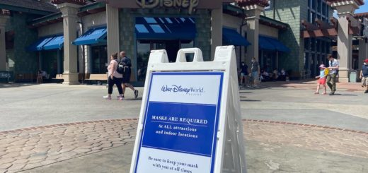 Disney Springs, Walt Disney World, Masks