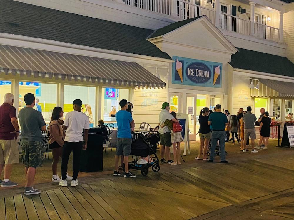 Ice Cream, Boardwalk