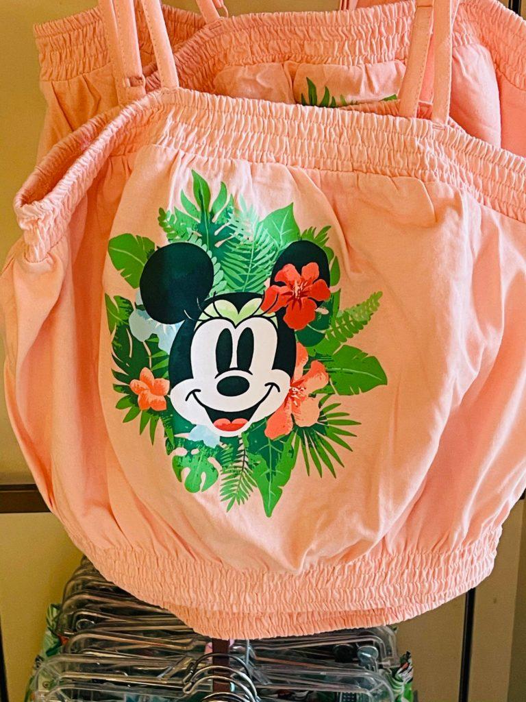 Minnie crop top
