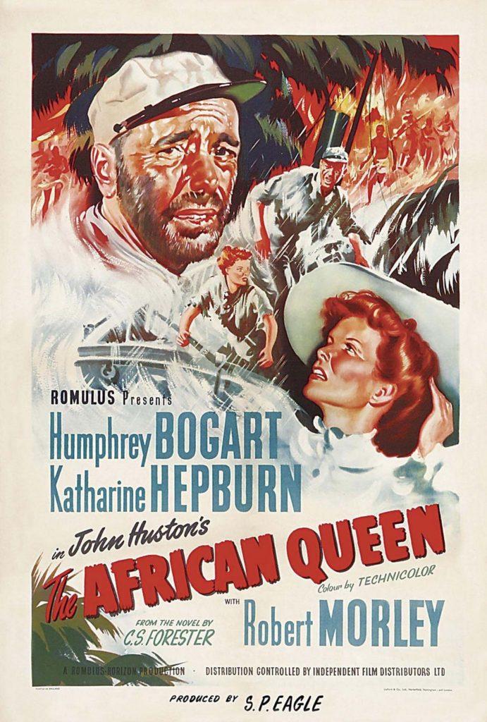 African Queen, Humphrey Bogart