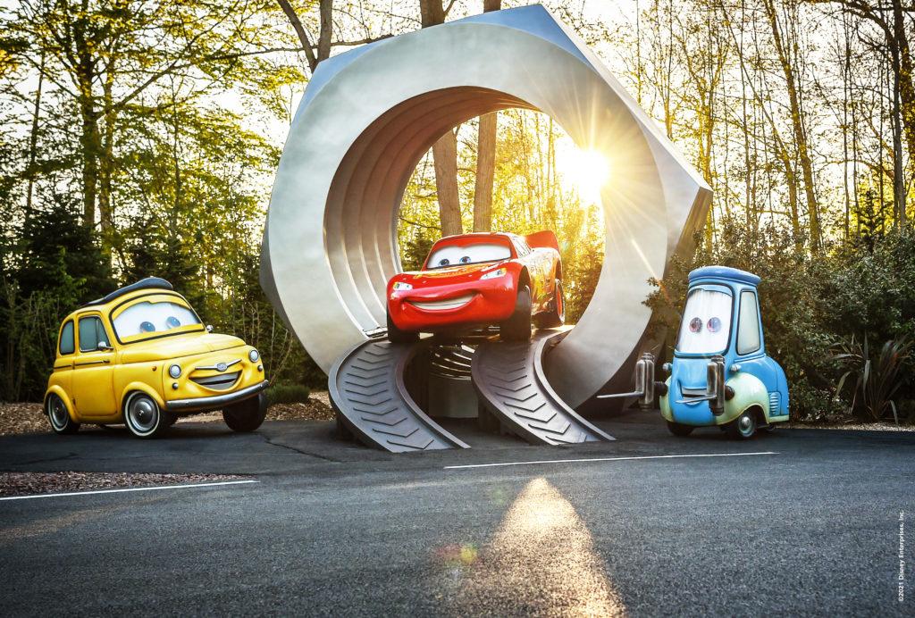 Cars ROAD TRIP giant lugnut