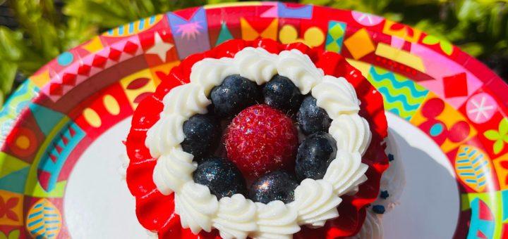 Memorial Day cupcake