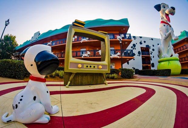Dalmatian Disney's All-Star Movies Resort