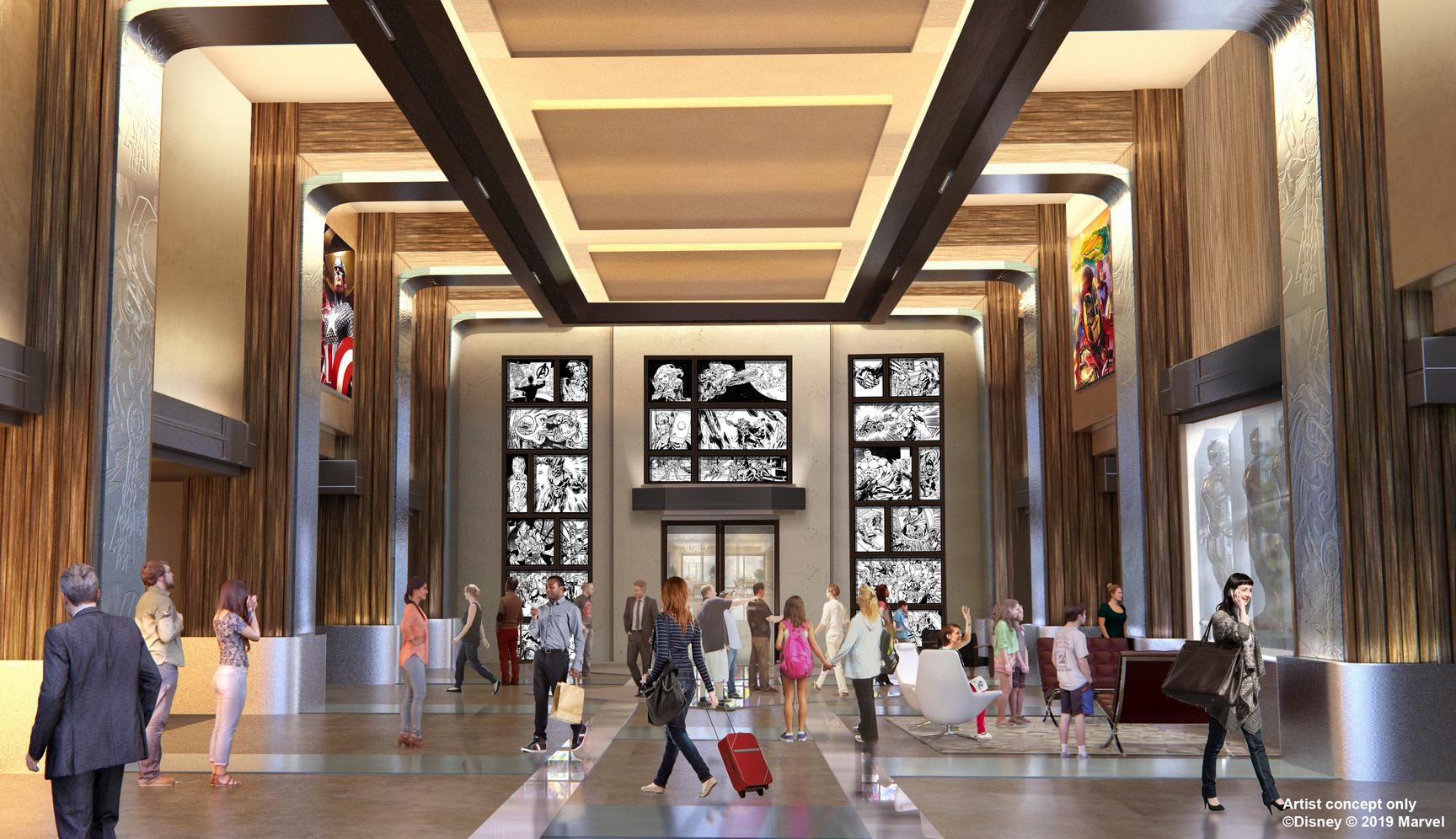 lobby of Hotel New York