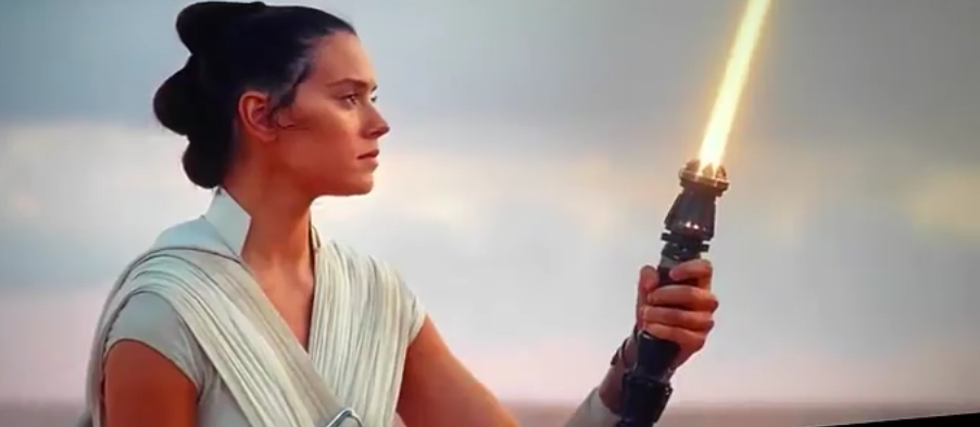 Rey, Lightsaber, Star Wars