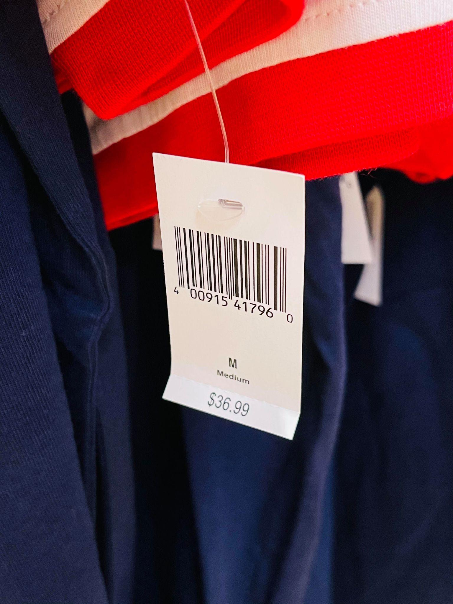 Red White Blue Shirt Price