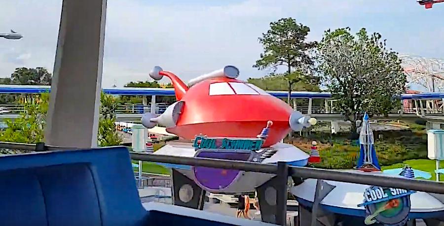 Flight of the Navigator, Tomorrowland