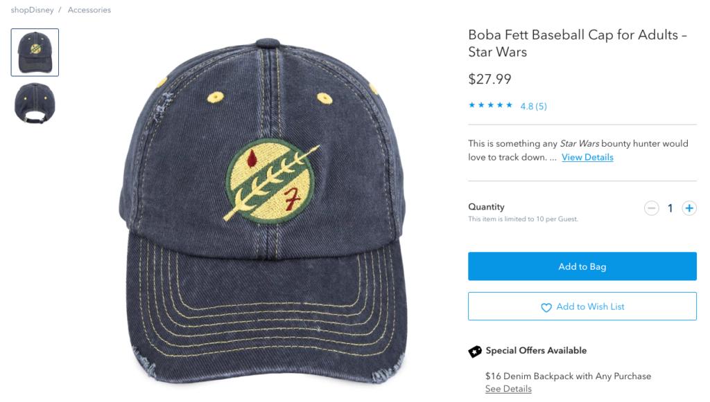 Boba Fett, Hat