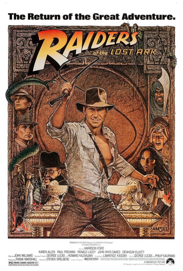 Richard Amsel, Raiders of the Lost Ark