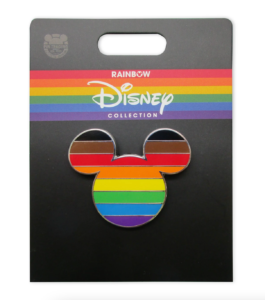 pride flag pin rainbow collection