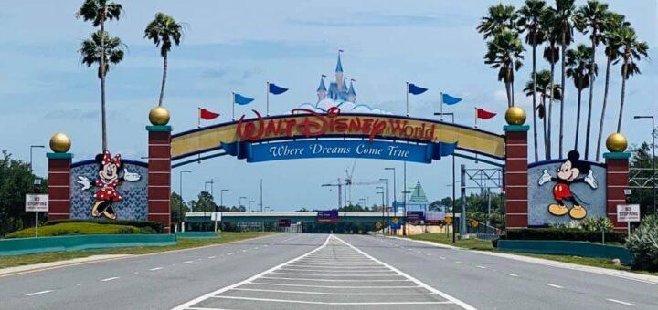 WDW Entrance Sign