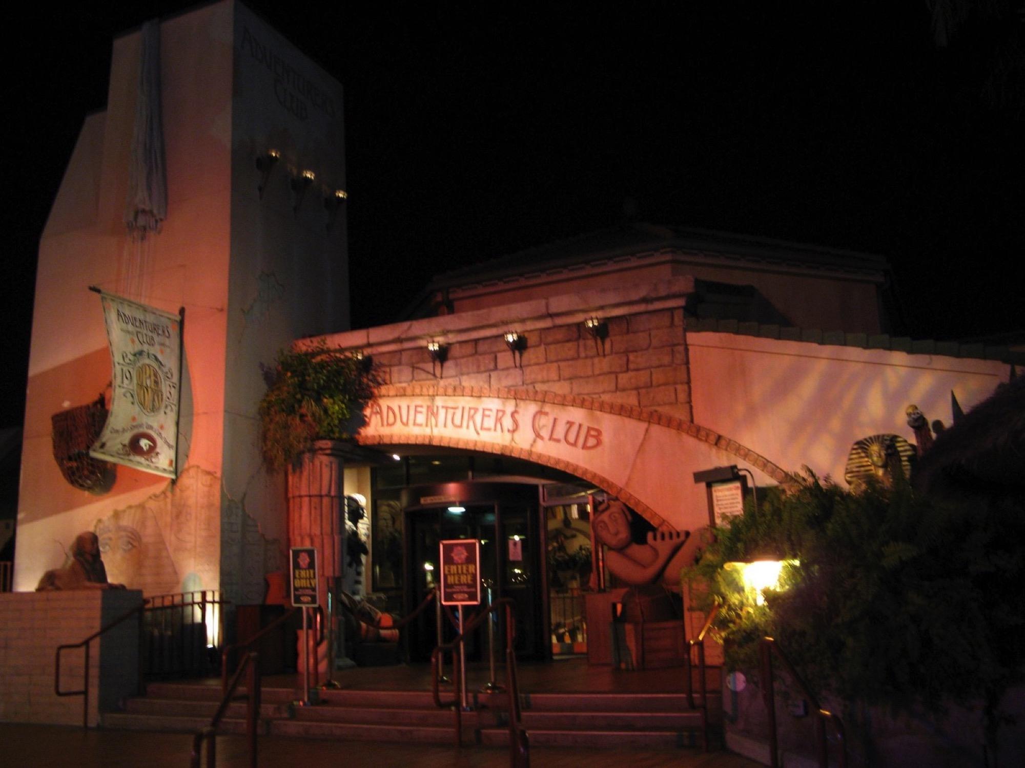 Adventurers Club, Disney Springs, Walt Disney World