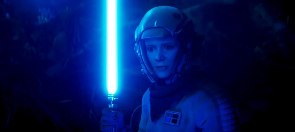Leia, Lightsaber, Star Wars