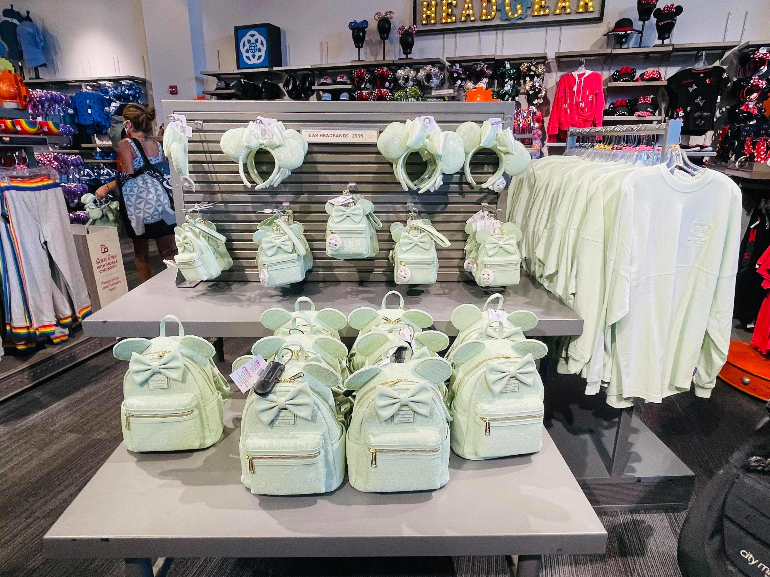 Mint Green arrives on Disney's shelves