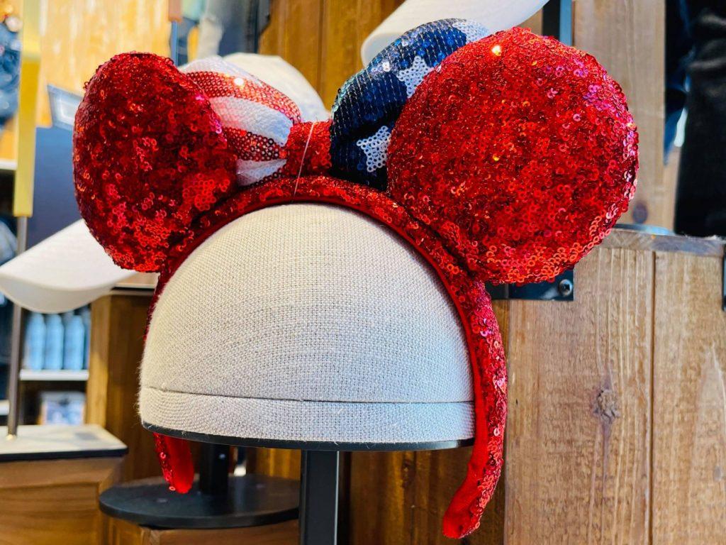 patriotic fourth of july minnie ears