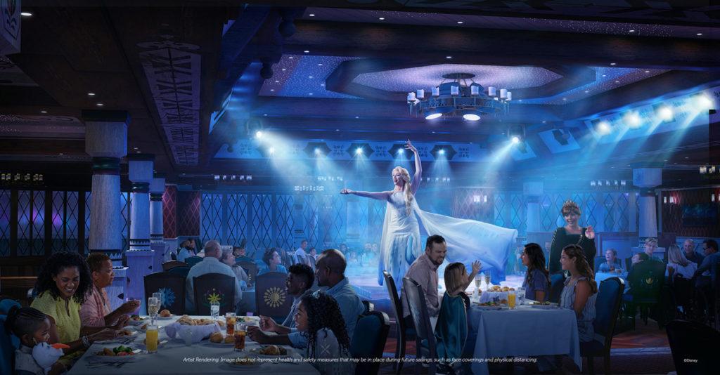 Frozen Disney Cruise