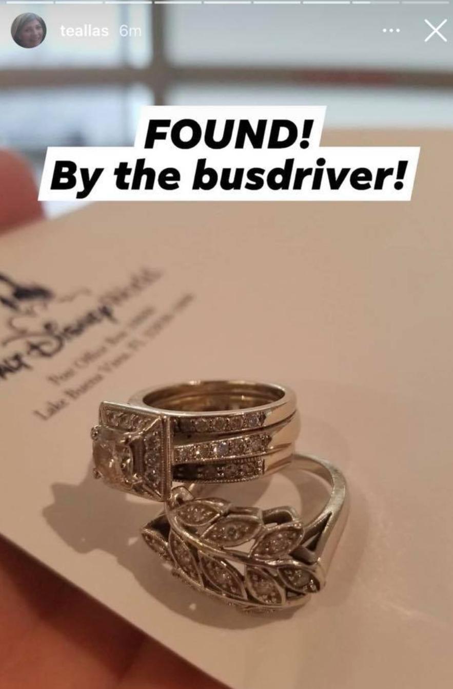 lost rings