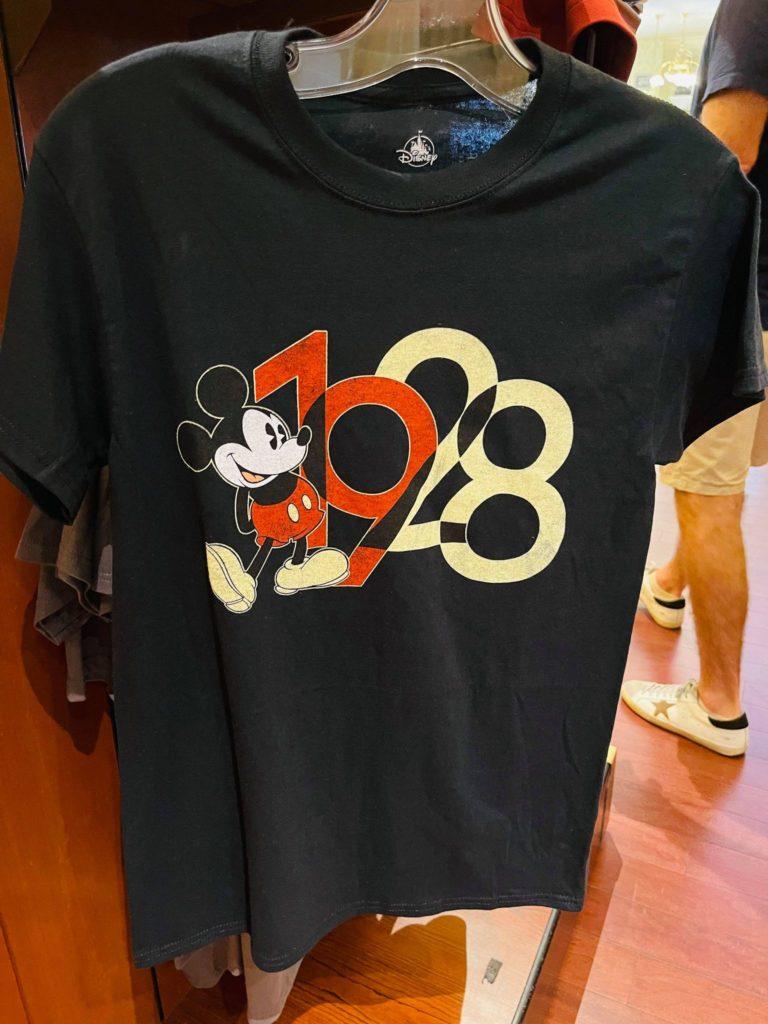 Disney World Mickey 1928 Vintage Tee