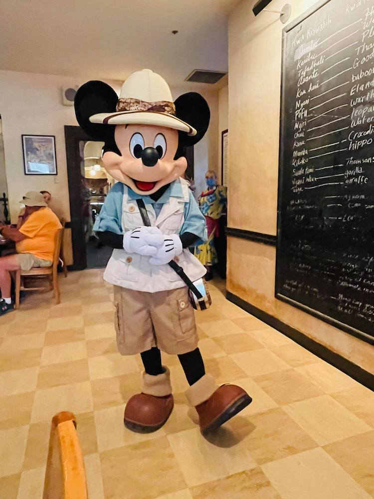 Tusker House, Animal Kingdom, Mickey Mouse