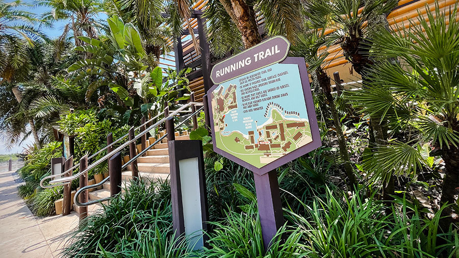 Disney World running trail