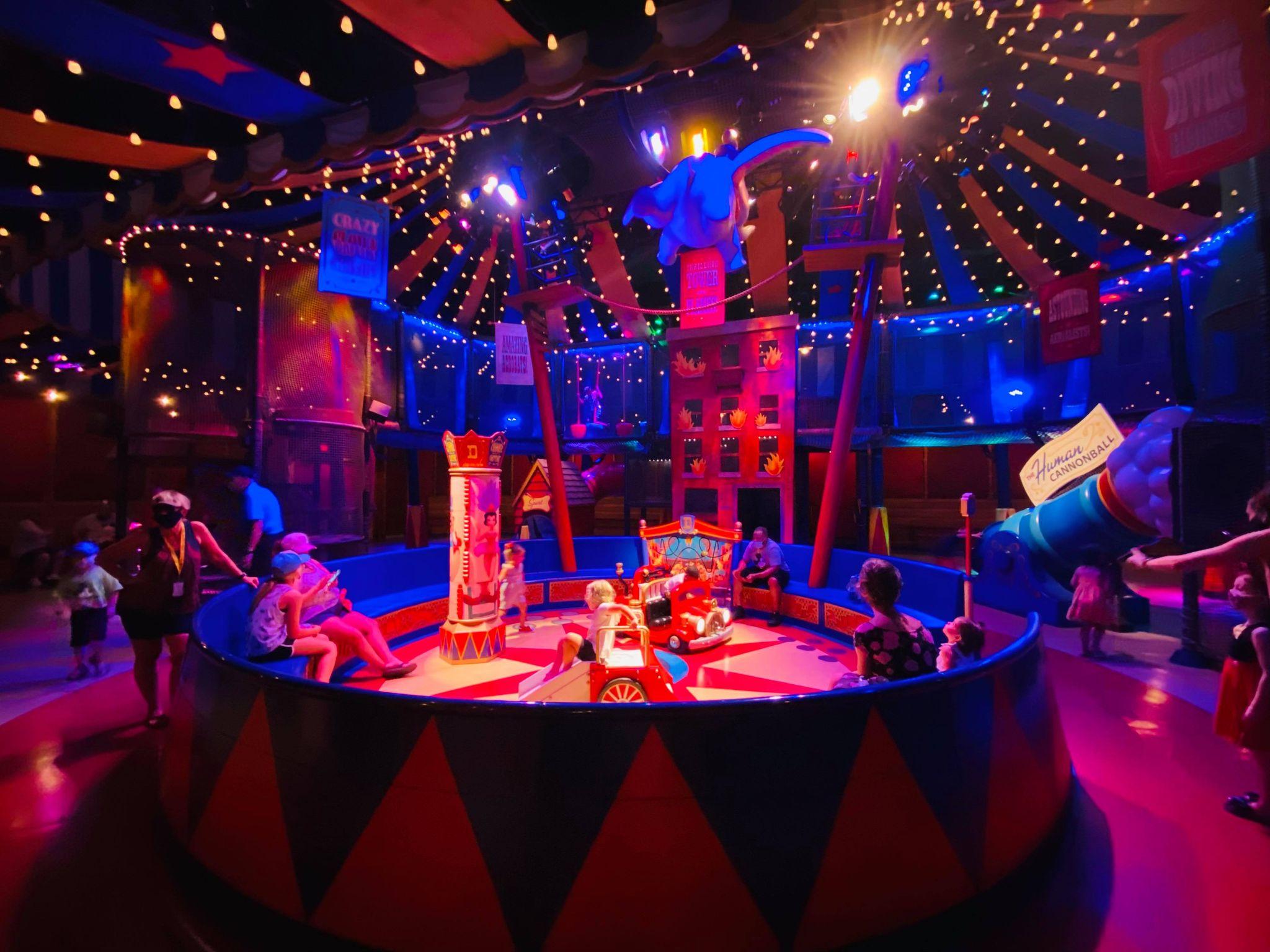 Dumbo play area