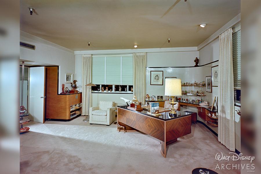 Walt's Office, Disney Archives