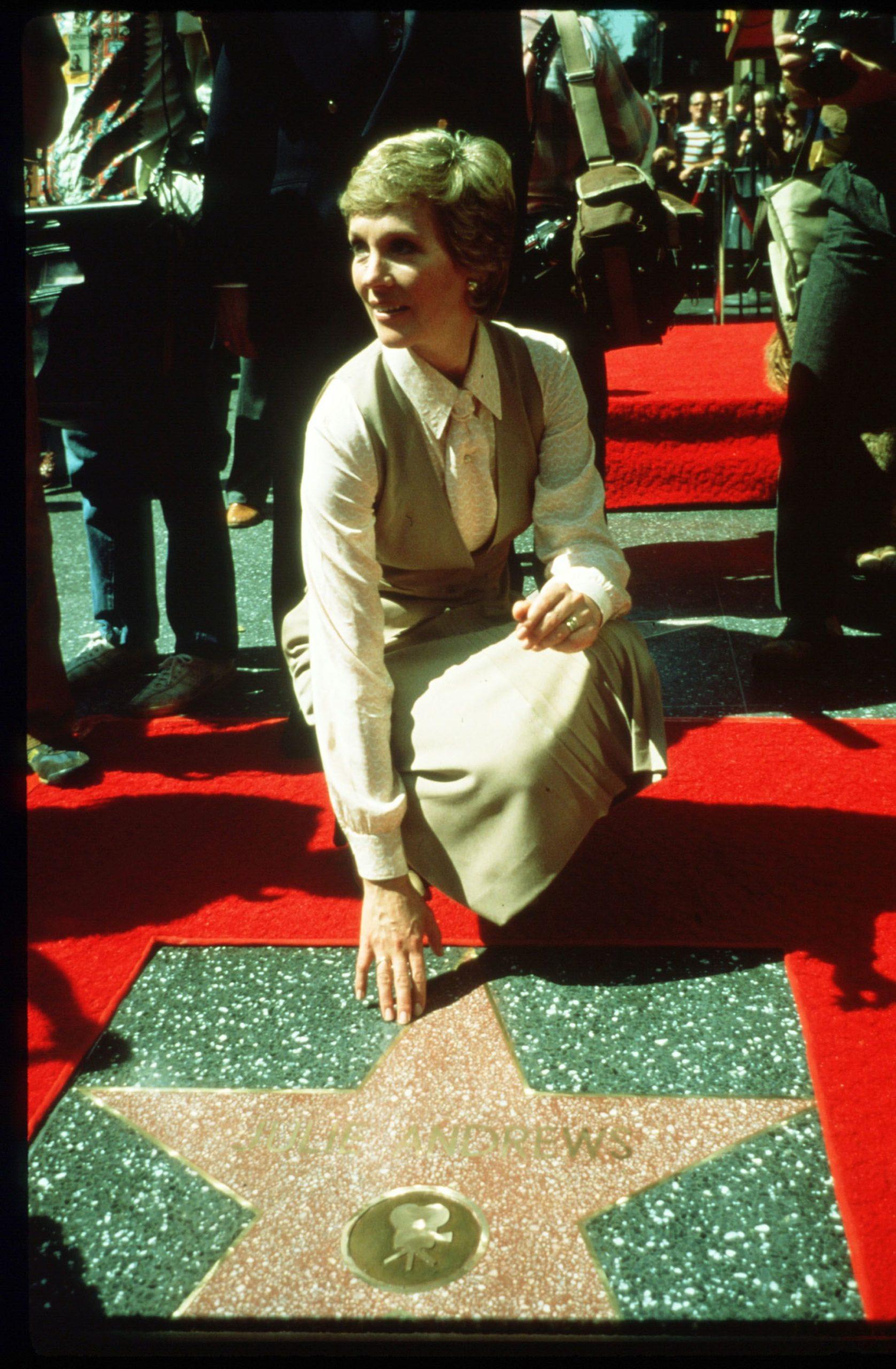 Julie Andrews Hollywood Walk of Fame