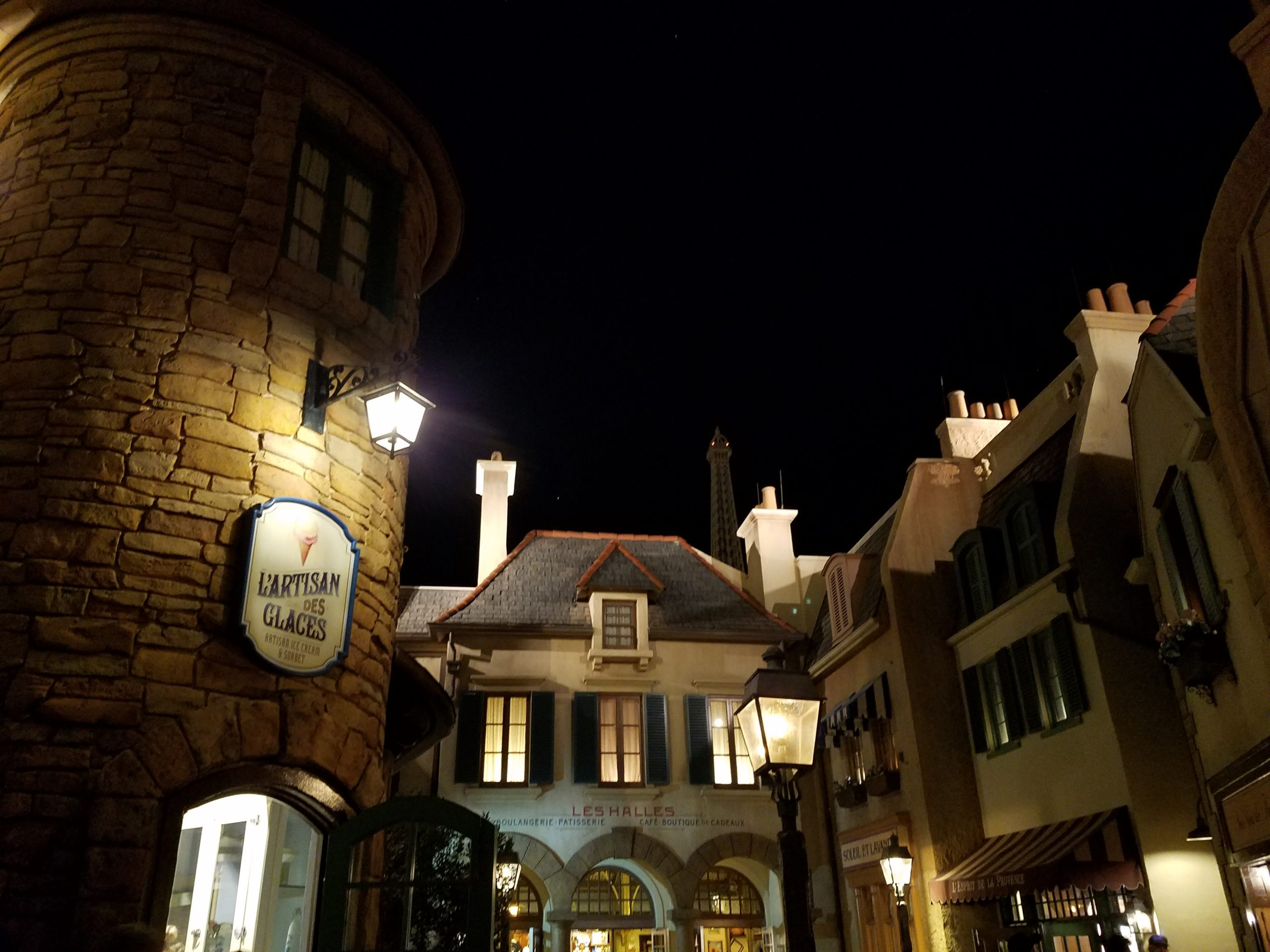 France Pavilion at Night