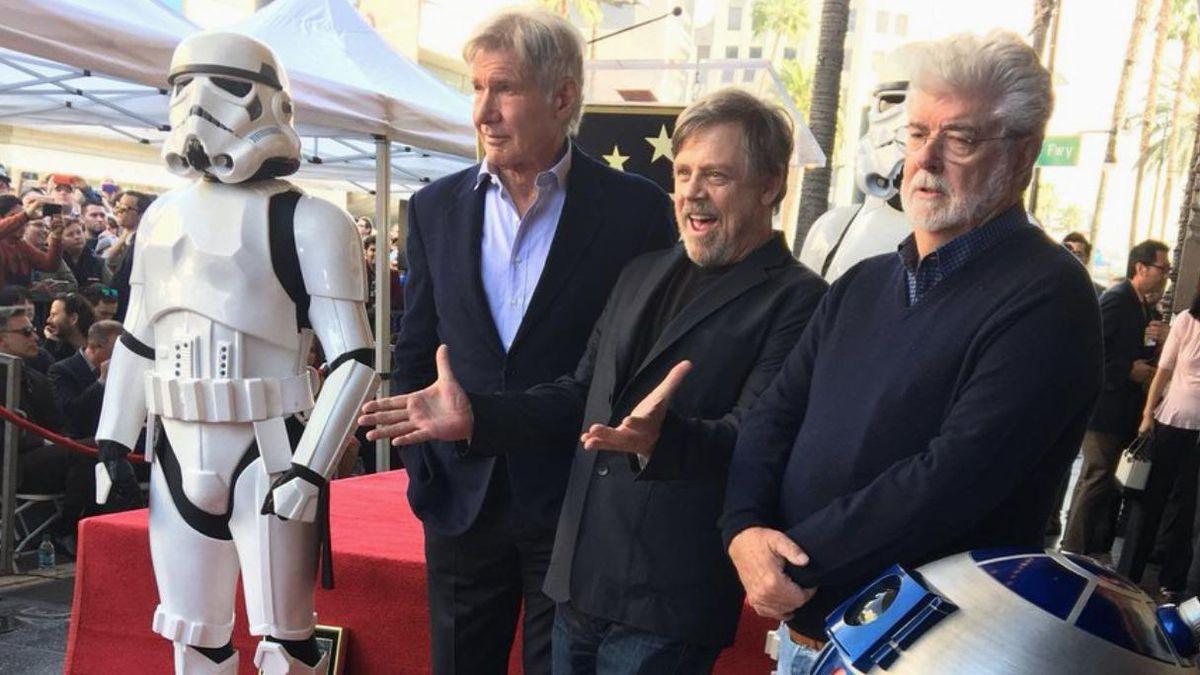 Mark Hamill Hollywood Star