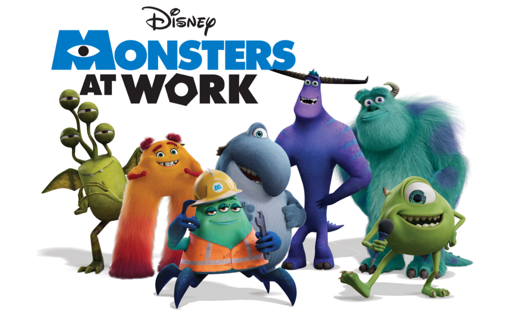 Monsters at Work cast