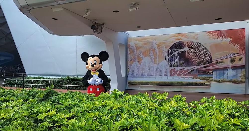 Mickey Mouse, Epcot