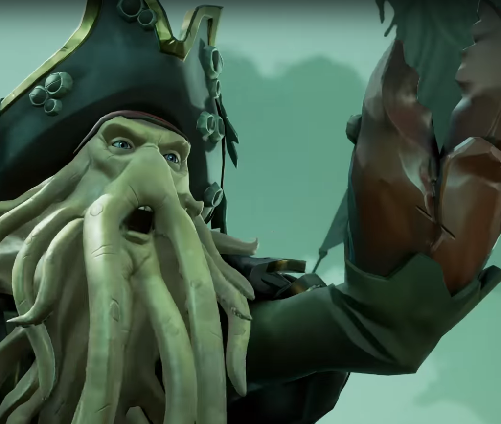 Sea of Thieves, Pirates of the Caribbean