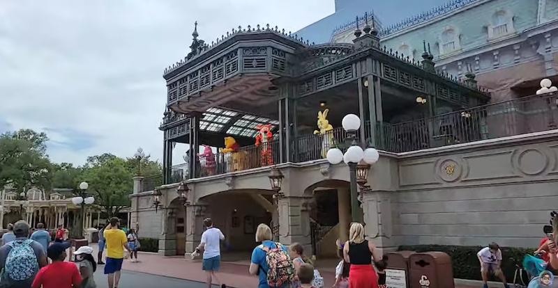Main Street, Train Station, Characters