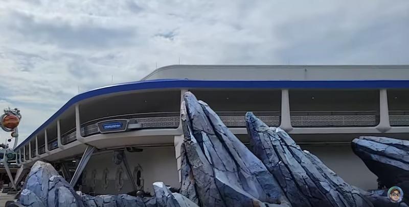 Tomorrowland, PeopleMover, Magic Kingdom